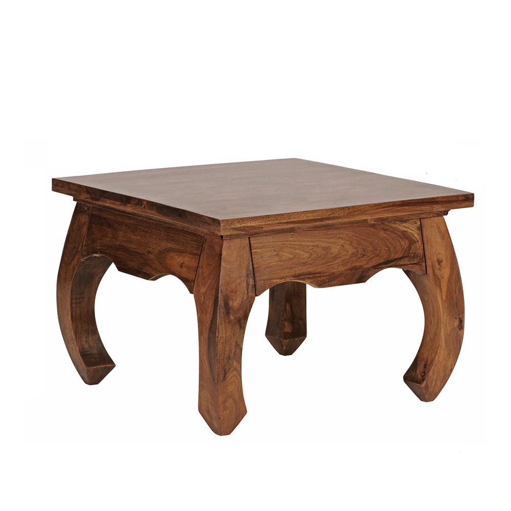 Konferenční stolek Opium, 60 cm, masiv Sheesham