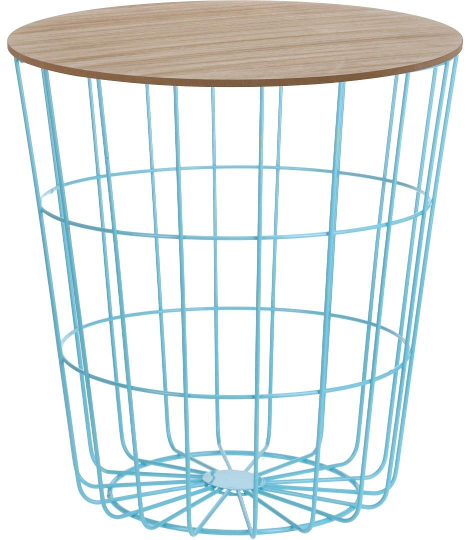Konferenční stolek Pavola 2, 39 cm, modrá