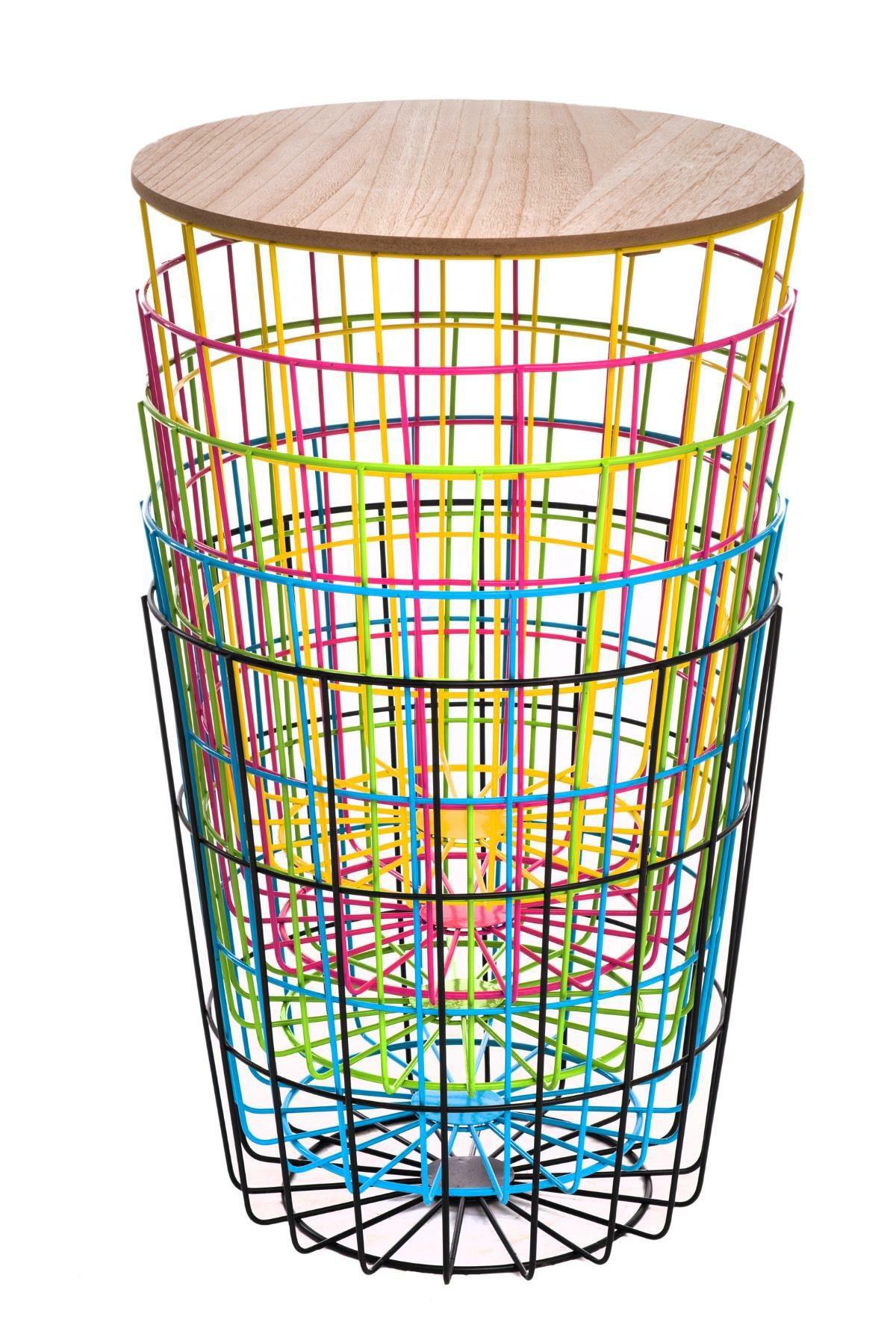 Konferenční stolek Pavola 2, 39 cm, zelená