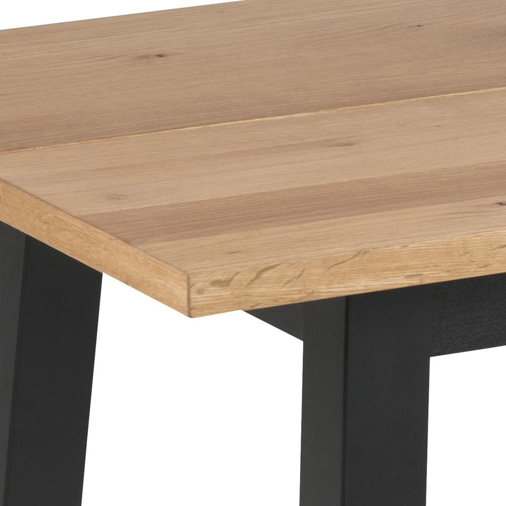 Konferenční stolek Rachel, 117 cm, černá/dub