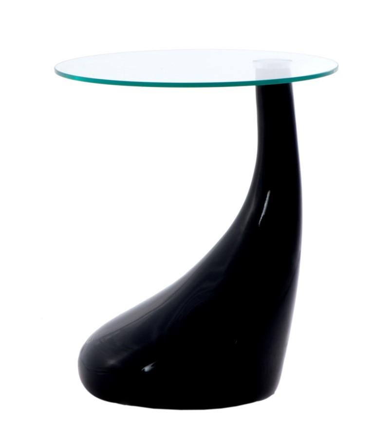 Konferenční stolek Rive, 45 cm, černá