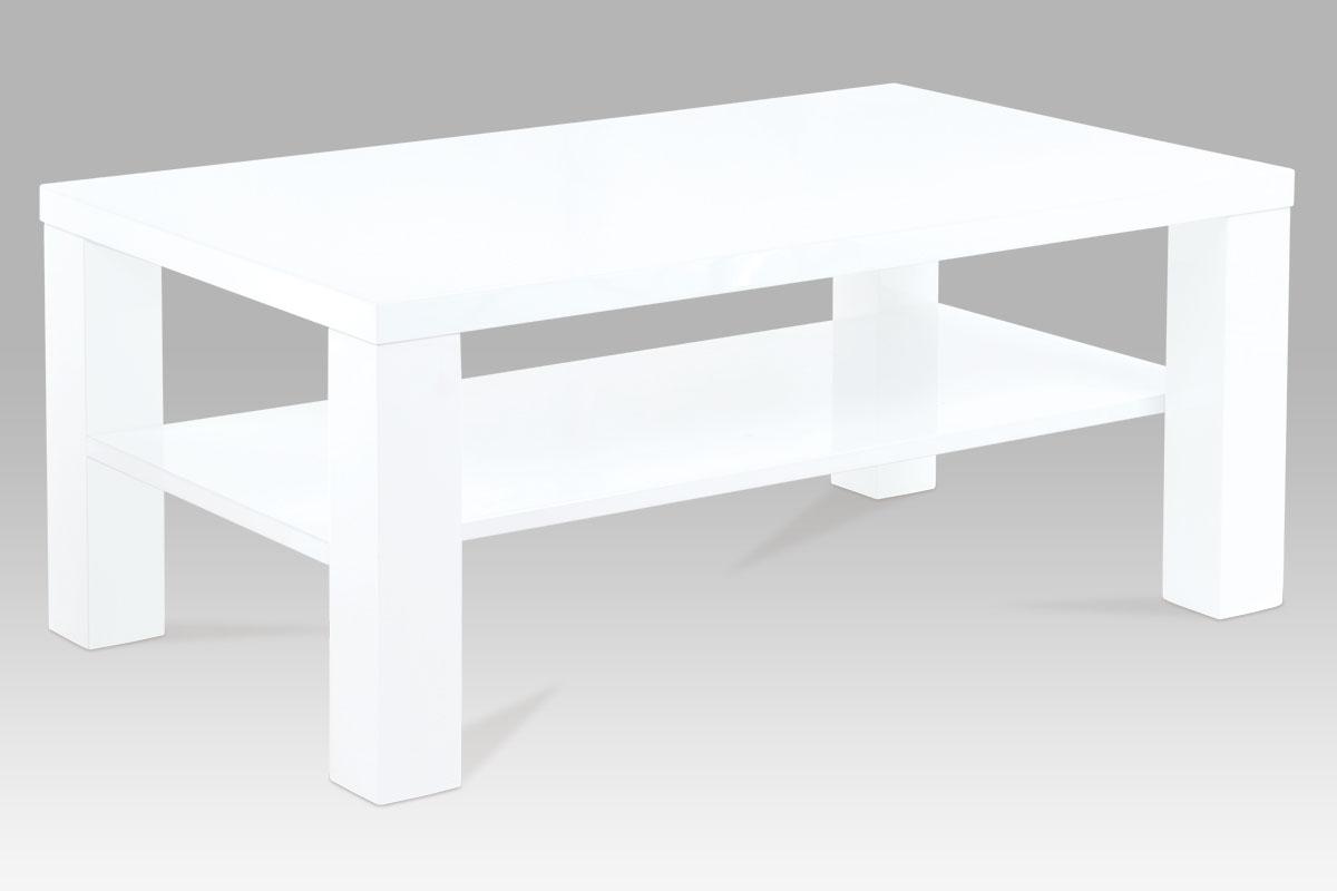Konferenční stolek Roland, 100 cm, bílá
