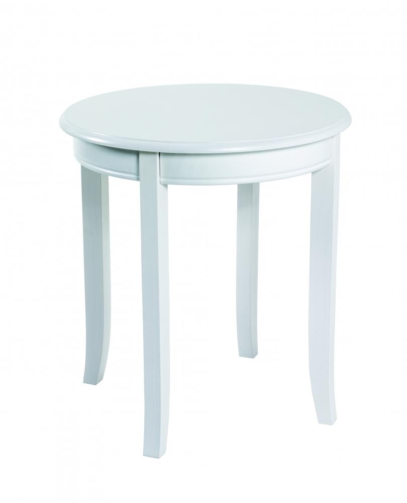 Konferenční stolek Ross, 51 cm, bílá