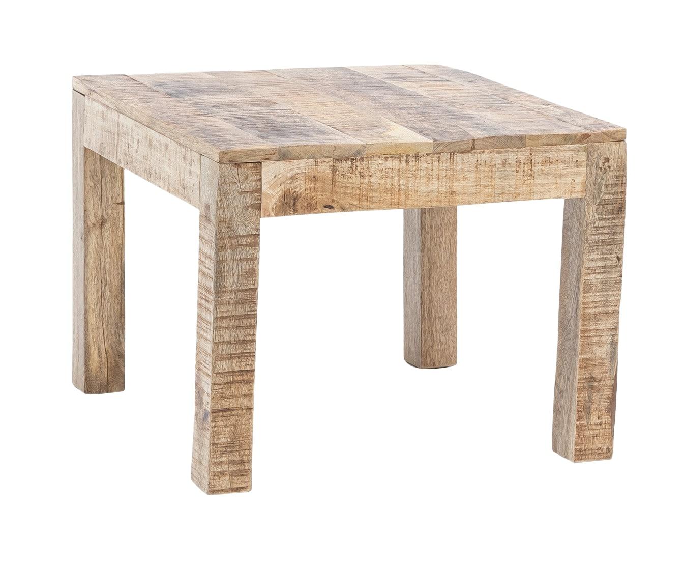 Konferenční stolek Rustica 60 cm, mangové dřevo