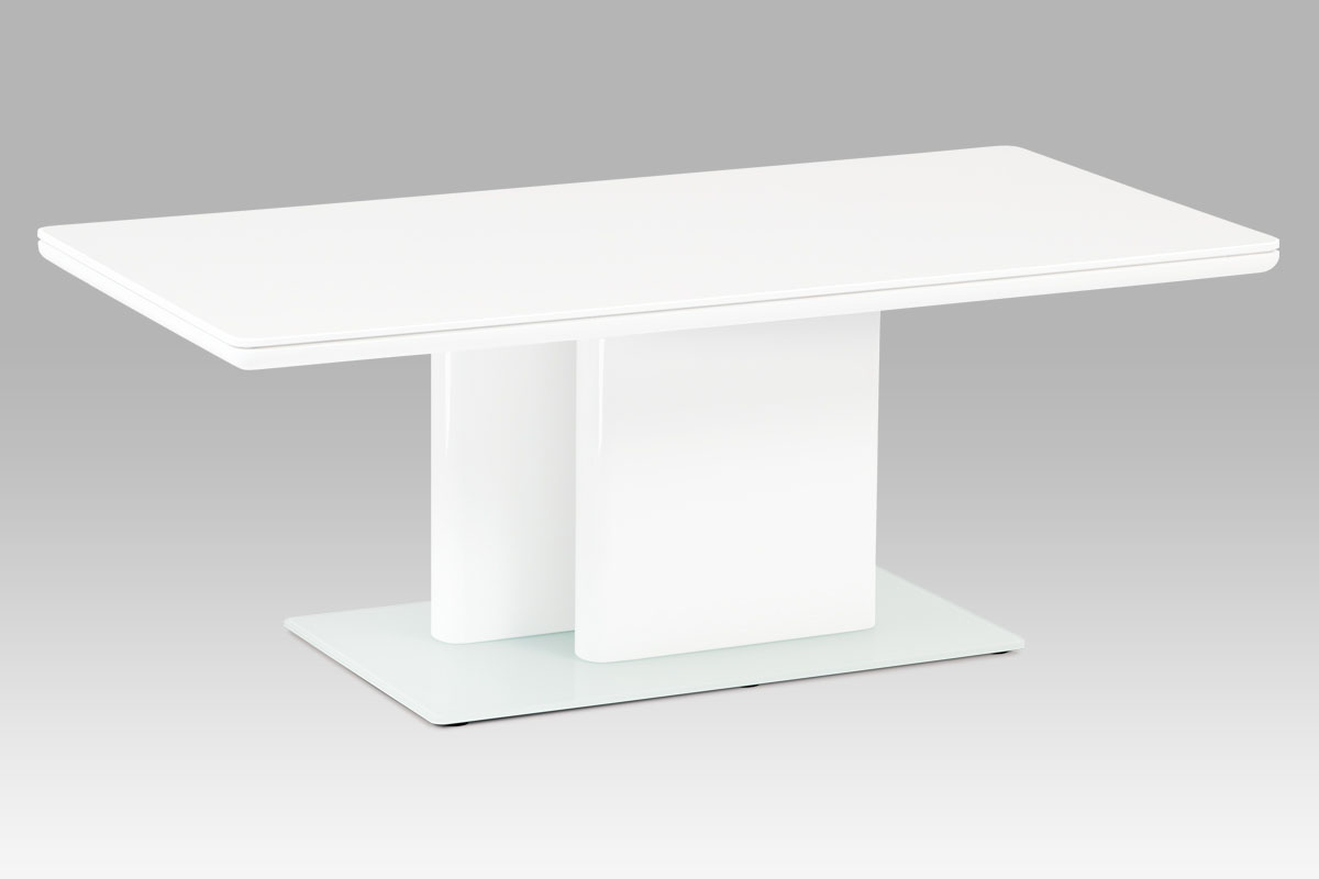 Konferenční stolek Ruth, 120 cm, bílá