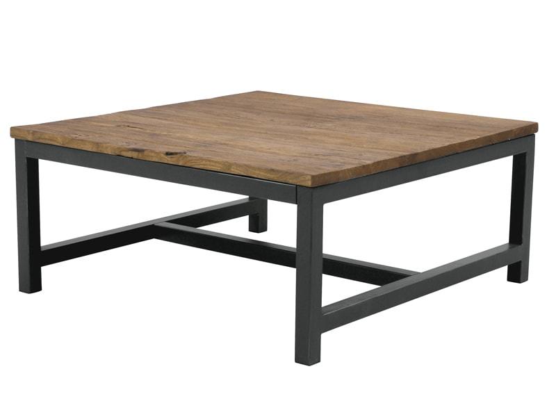 Konferenční stolek s dřevěnou deskou Harvest, 90 cm