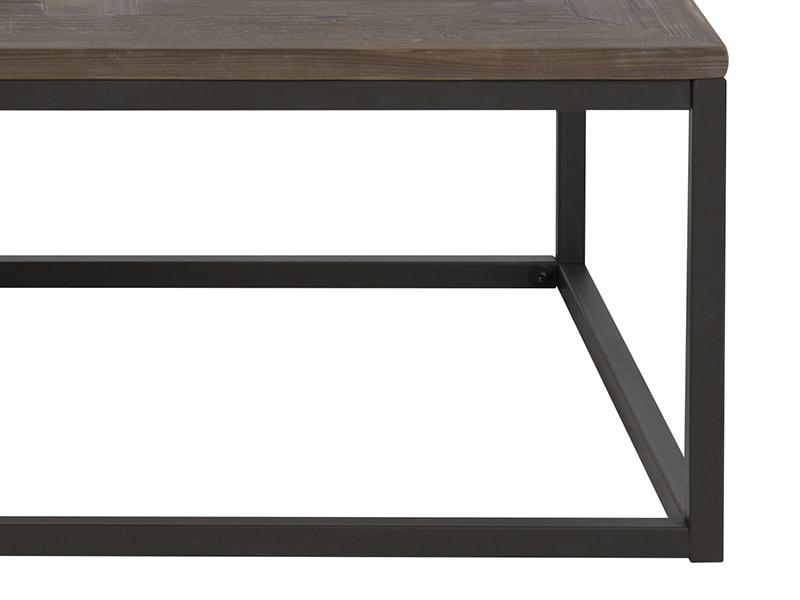Konferenční stolek s masivní deskou Rocky