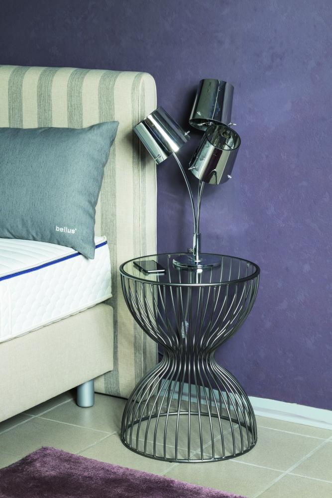 Konferenční stolek Sandglass, 55 cm, šedá