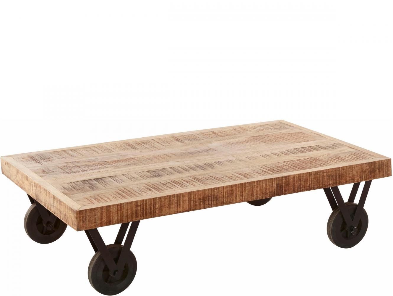 Konferenční stolek Sara, 110 cm, masivní mango