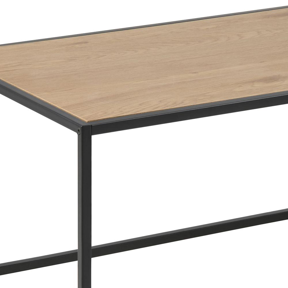 Konferenční stolek Seashell, 100 cm, dub