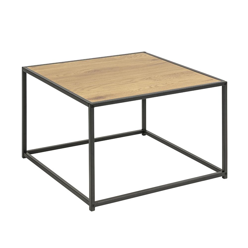 Konferenční stolek Seashell, 60 cm, dub