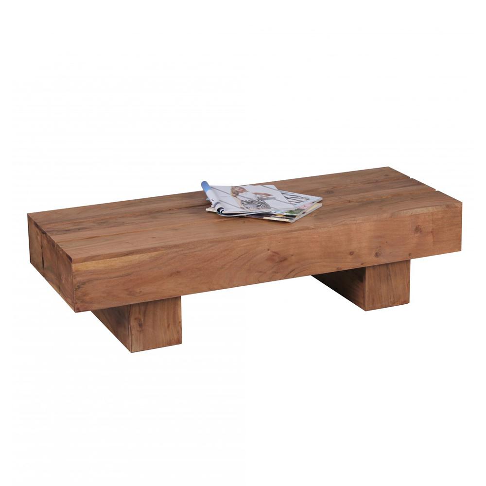 Konferenční stolek Sira, 120 cm, masiv akát