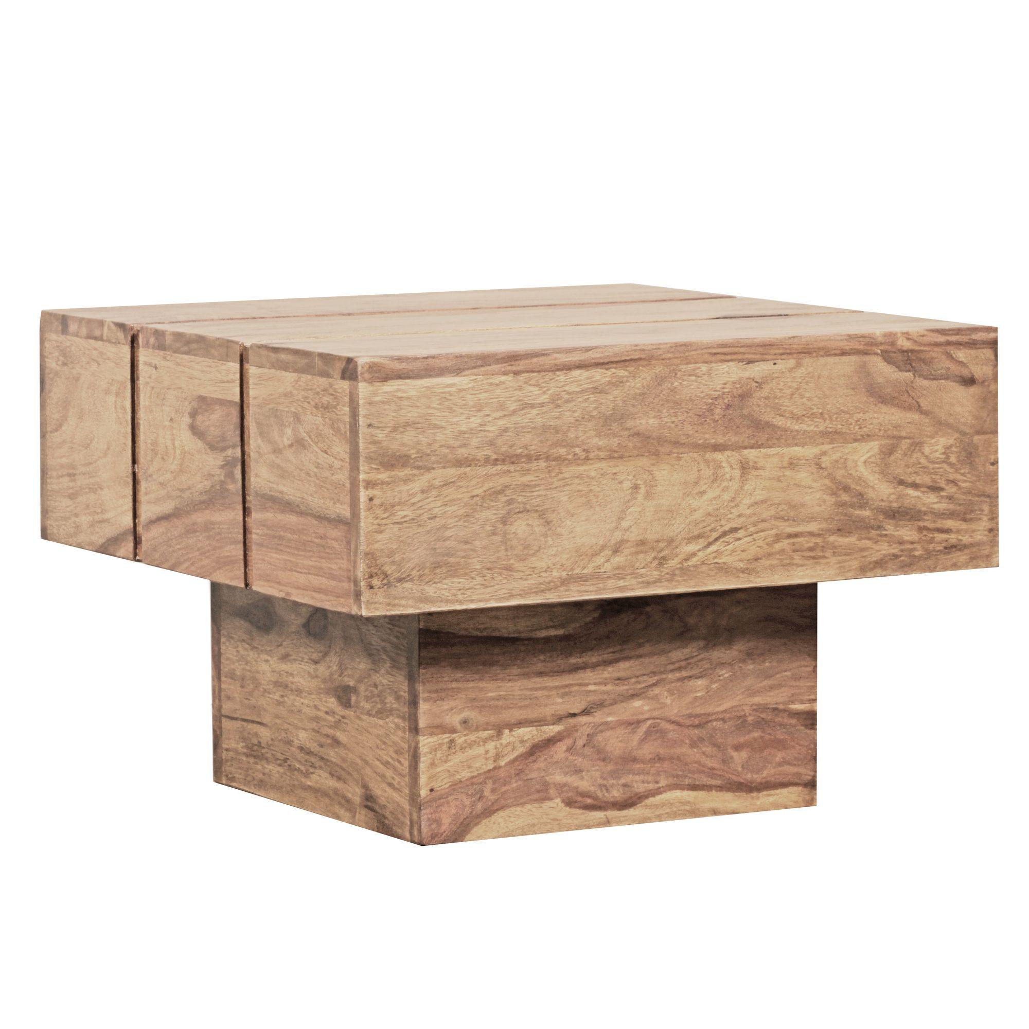Konferenční stolek Sira, 44 cm, masiv akát