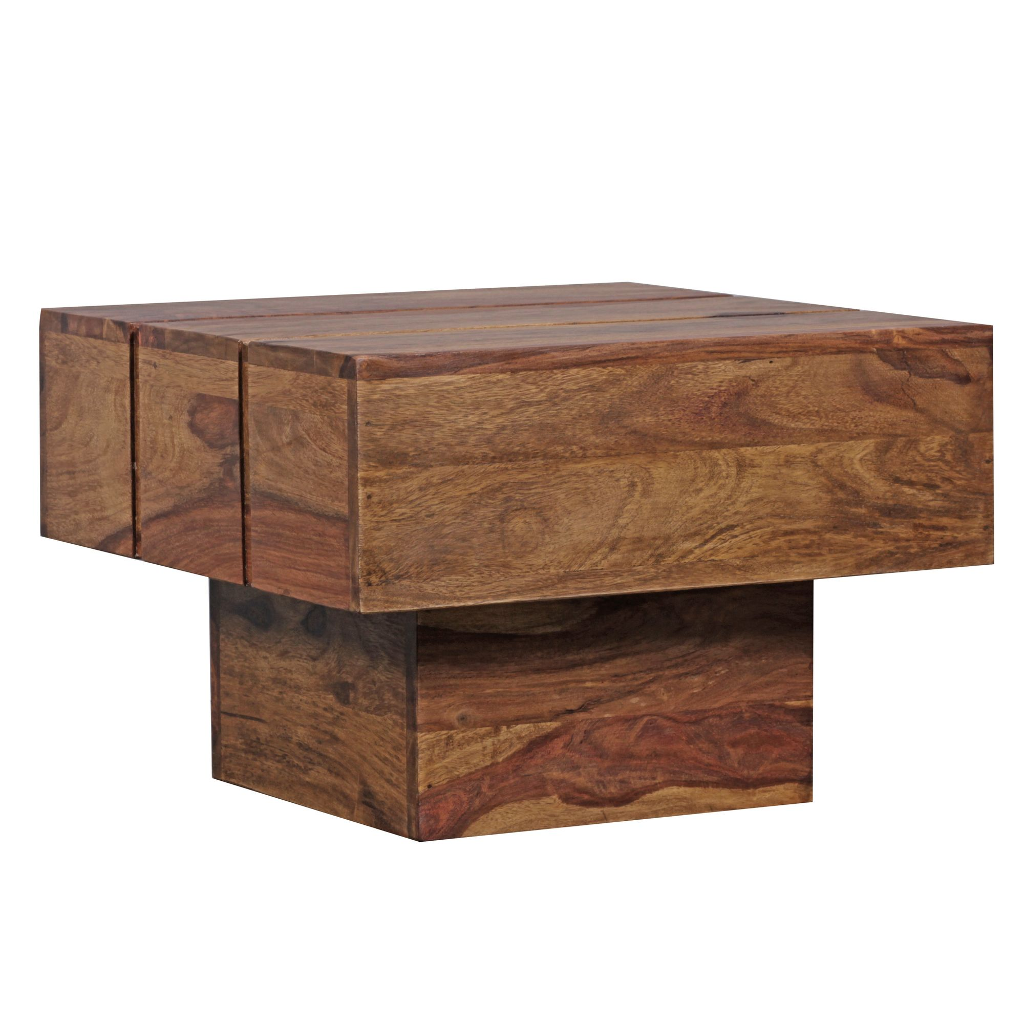 Konferenční stolek Sira, 44 cm, masiv Sheesham