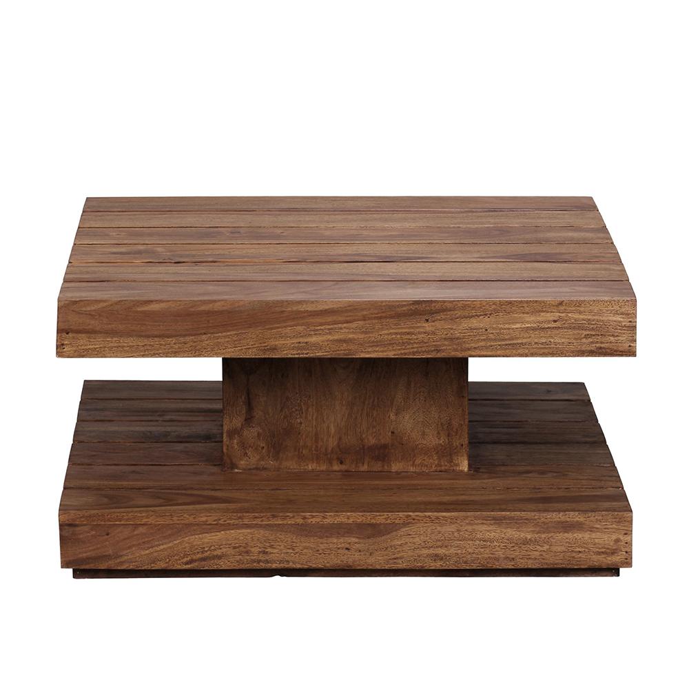 Konferenční stolek Sira, 80 cm, masiv Sheesham
