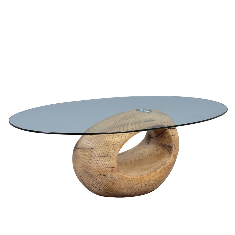 Konferenční stolek skleněný Cosima, 120 cm