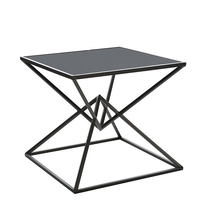 Konferenční stolek skleněný Diamond, 50 cm