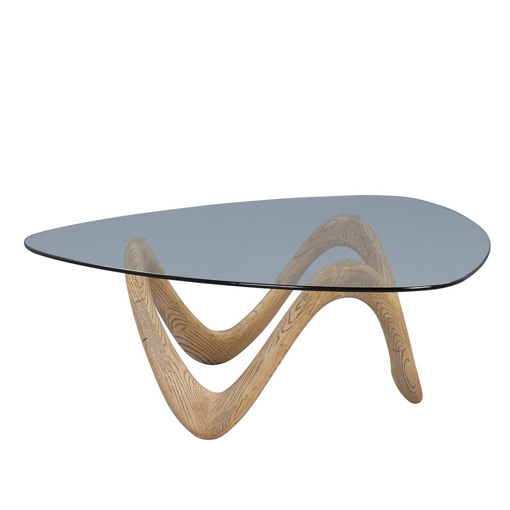 Konferenční stolek skleněný Donata, 106 cm