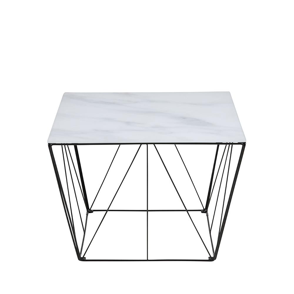 Konferenční stolek skleněný Susana, 60 cm