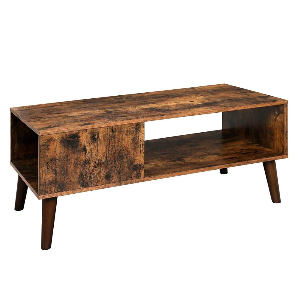 Konferenční stolek Stella, 100 cm, hnědá
