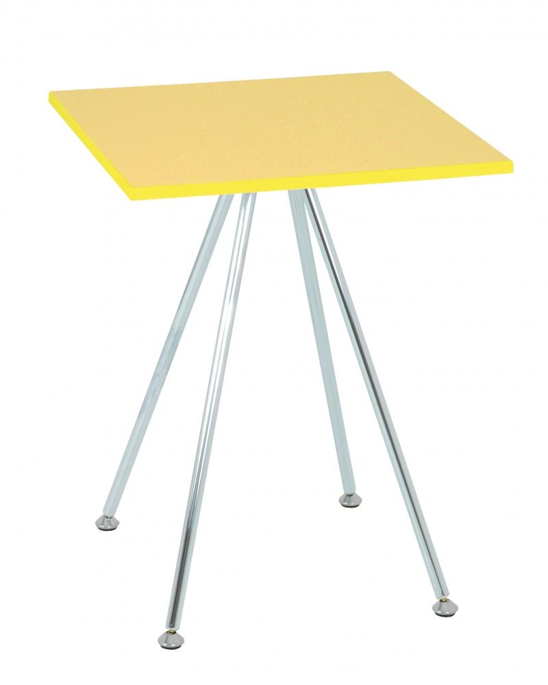 Konferenční stolek Sutton, 52 cm, žlutá