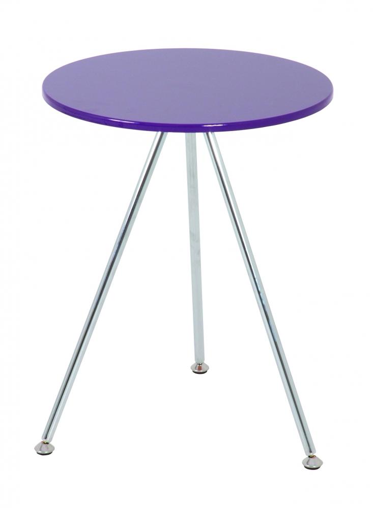 Konferenční stolek Sutton I., 52 cm, fialová