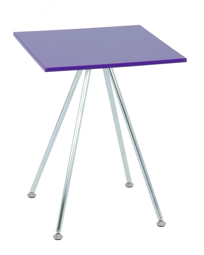 Konferenční stolek Sutton II., 52 cm, fialová
