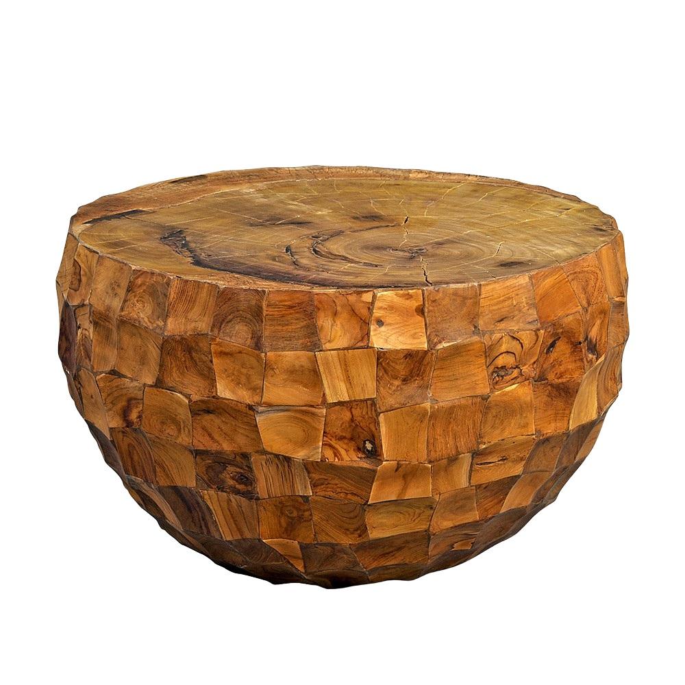 Konferenční stolek teakový Earl, 70 cm