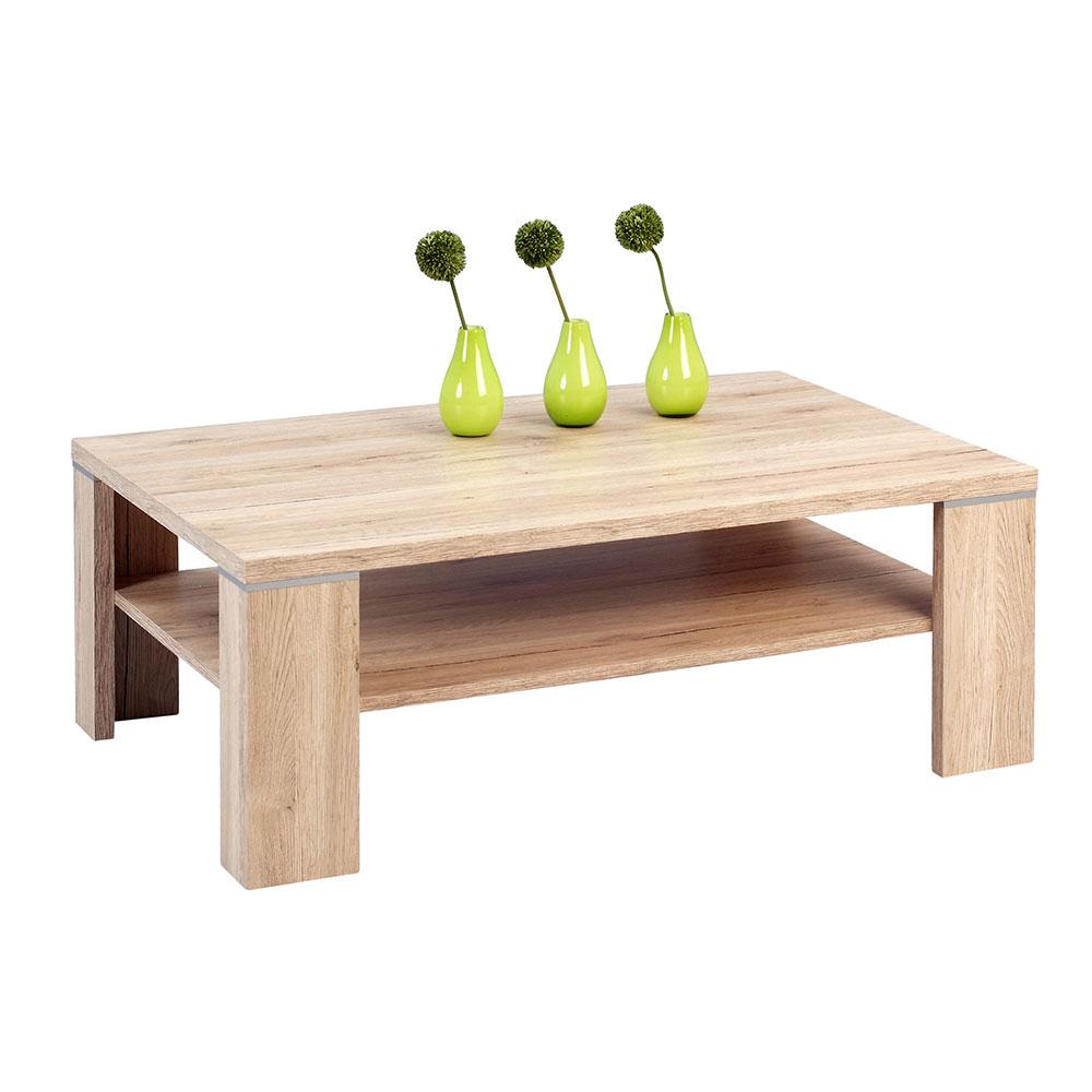 Konferenční stolek Tokyo, 110 cm, Sanremo dub