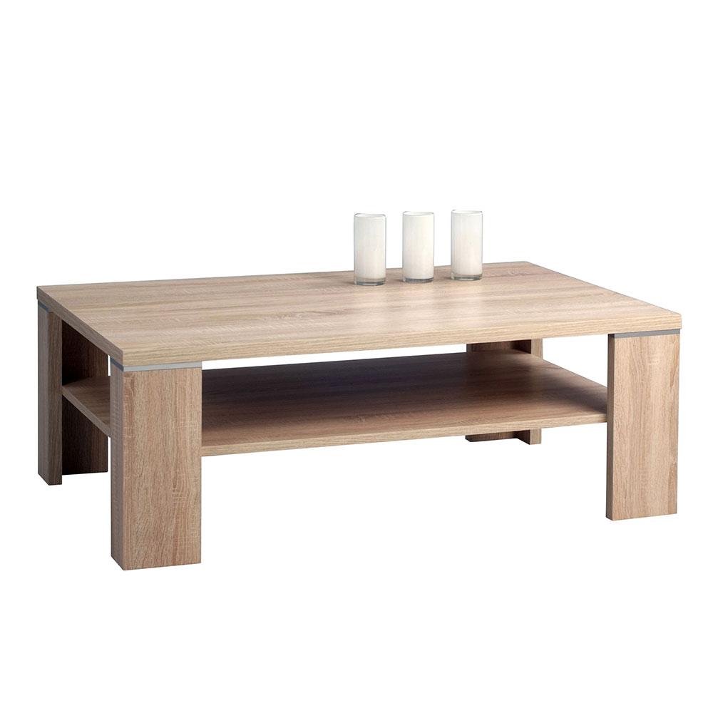 Konferenční stolek Tokyo, 110 cm, Sonoma dub