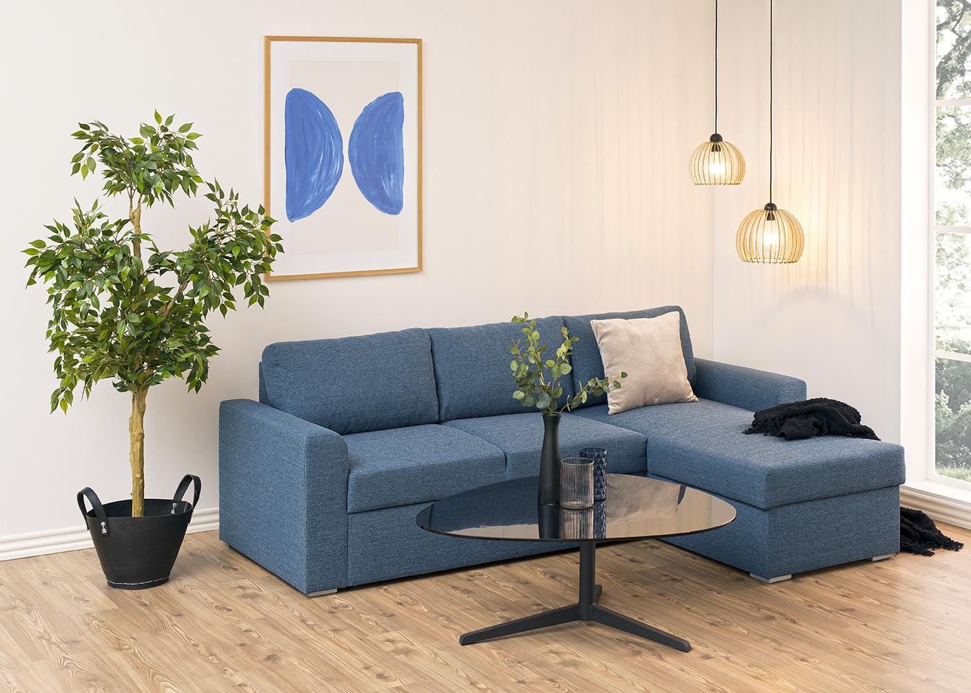 Konferenční stolek Torry, 103 cm, sklo