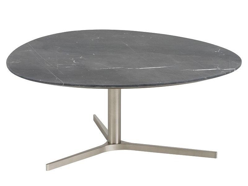 Konferenční stolek Torry, 84 cm, mramor