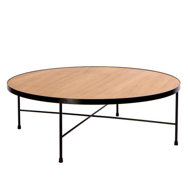 Konferenční stolek Treen, 90 cm, dub