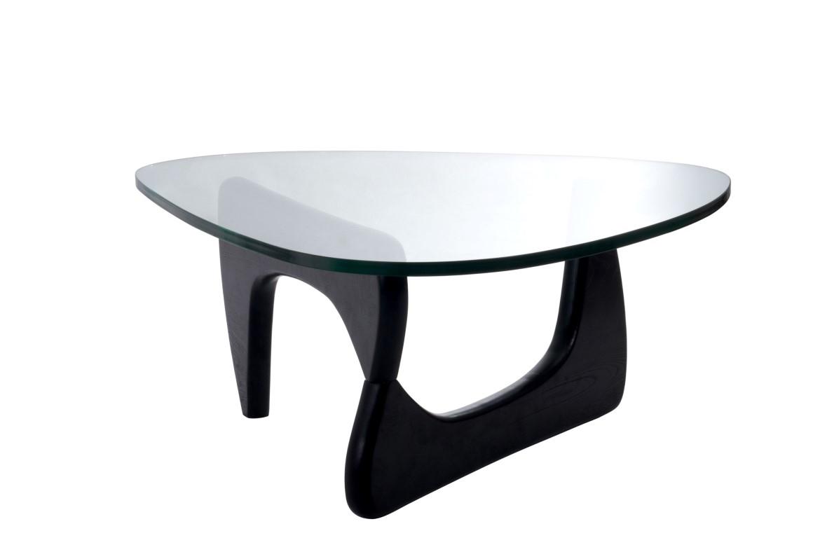 Konferenční stolek Trekant, 125 cm, černá