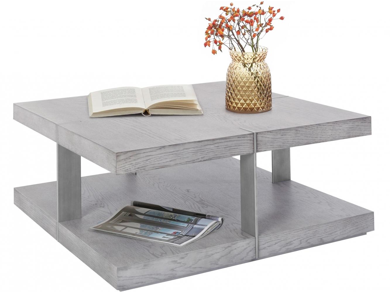 Konferenční stolek Veranzo, 70 cm, stříbrná
