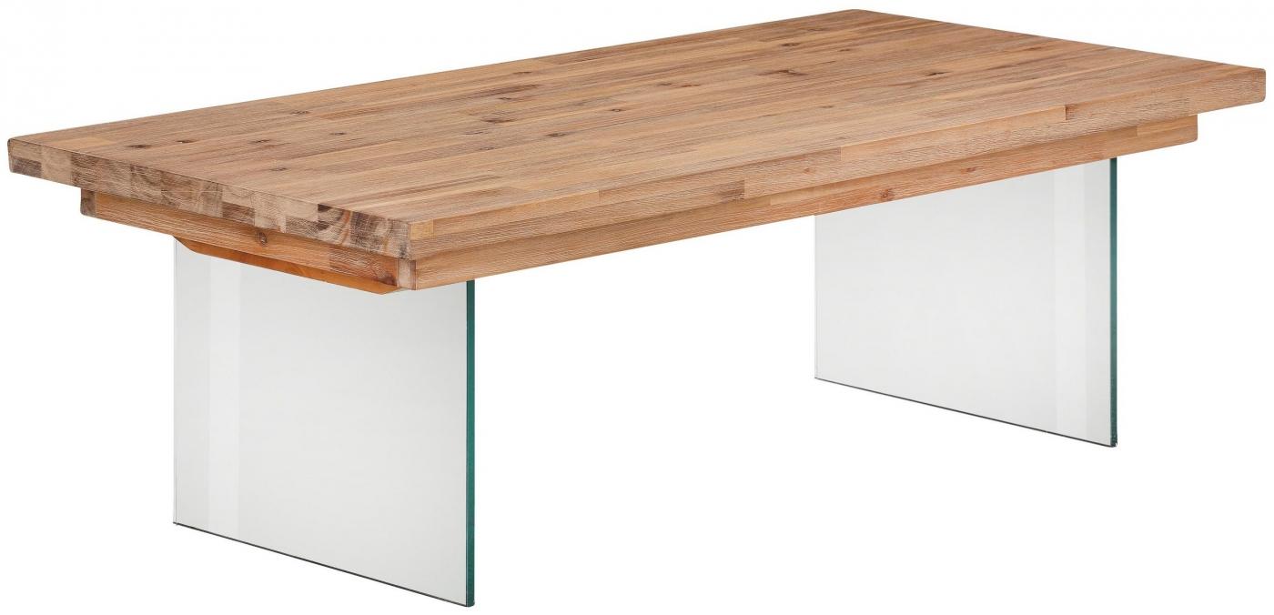 Konferenční stolek Vive, 120 cm, masivní akát