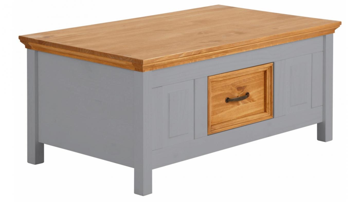 Konferenční stolek Yvet I., 100 cm, šedá