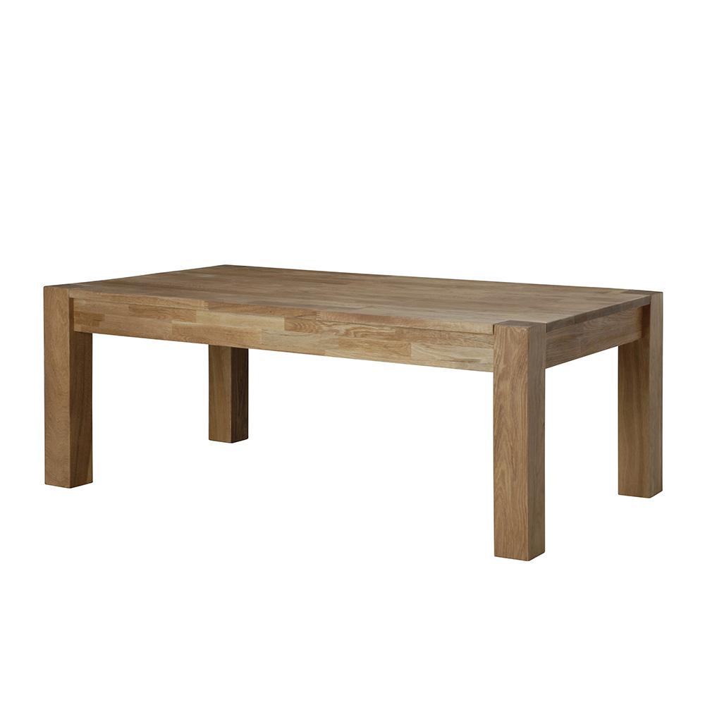 Konferenční stolek z masivu Boost, 120 cm, dub