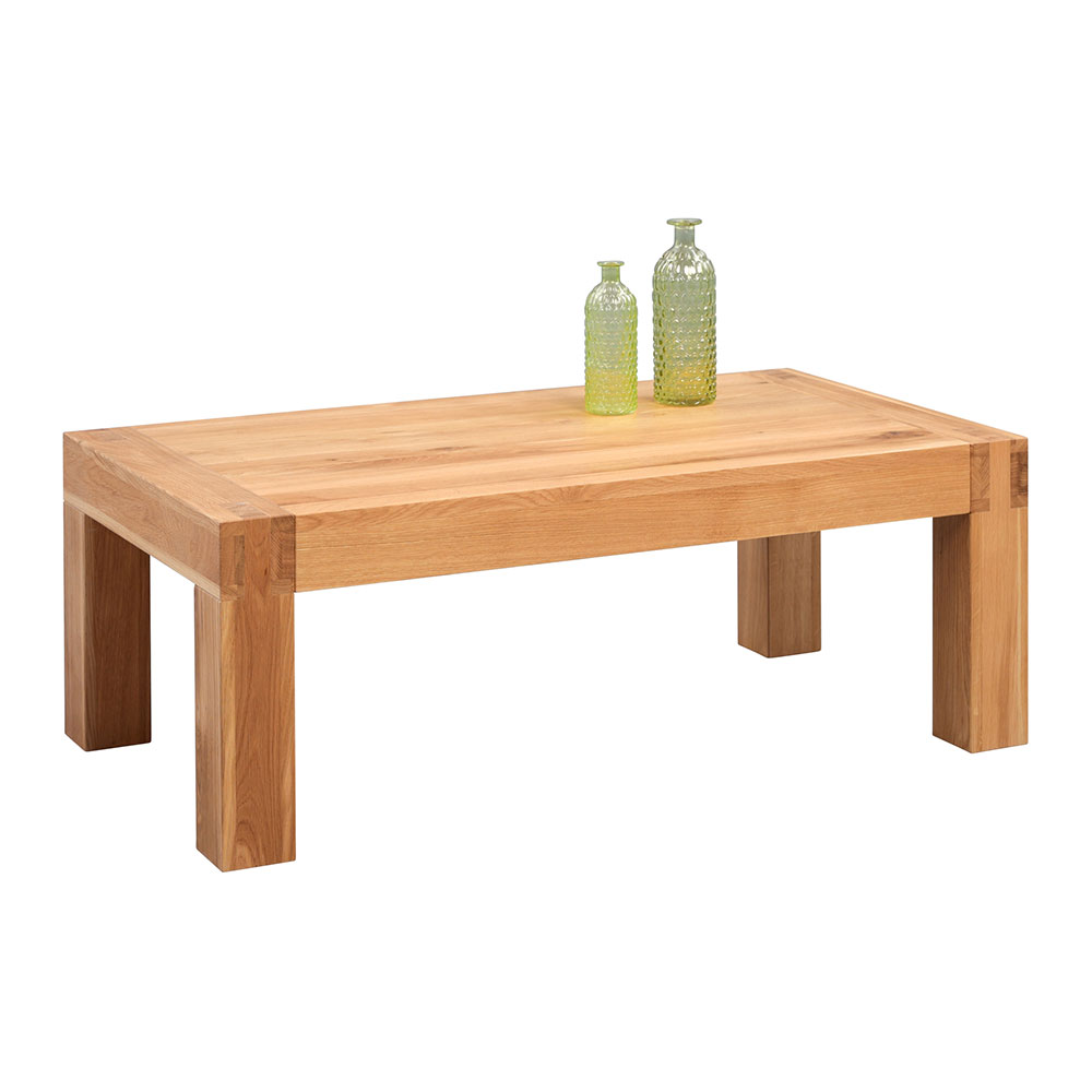 Konferenční stolek z masivu Kilian, 110 cm