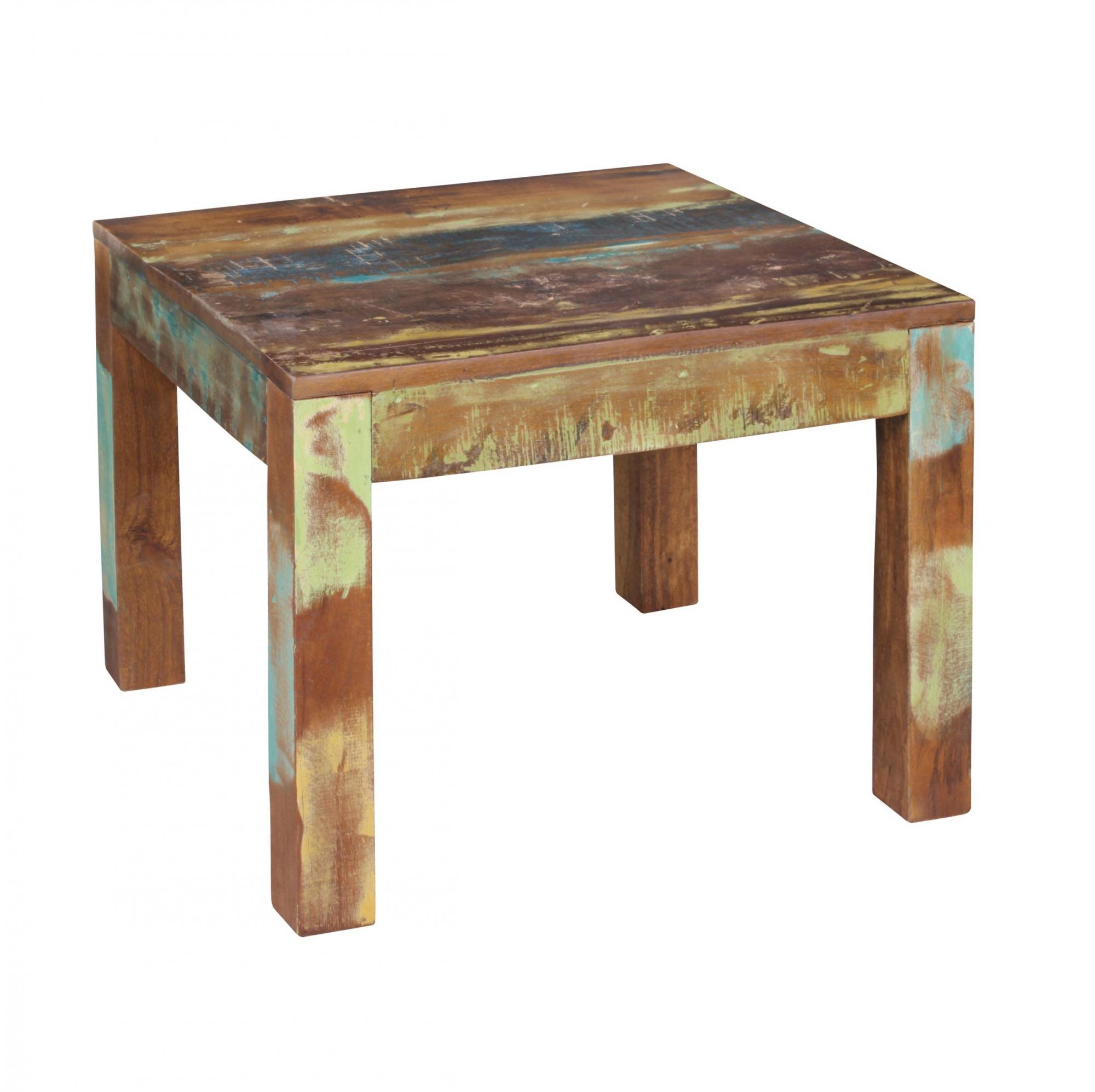 Konferenční stolek z recyklovaného dřeva Kalkutta, 60 cm, mango