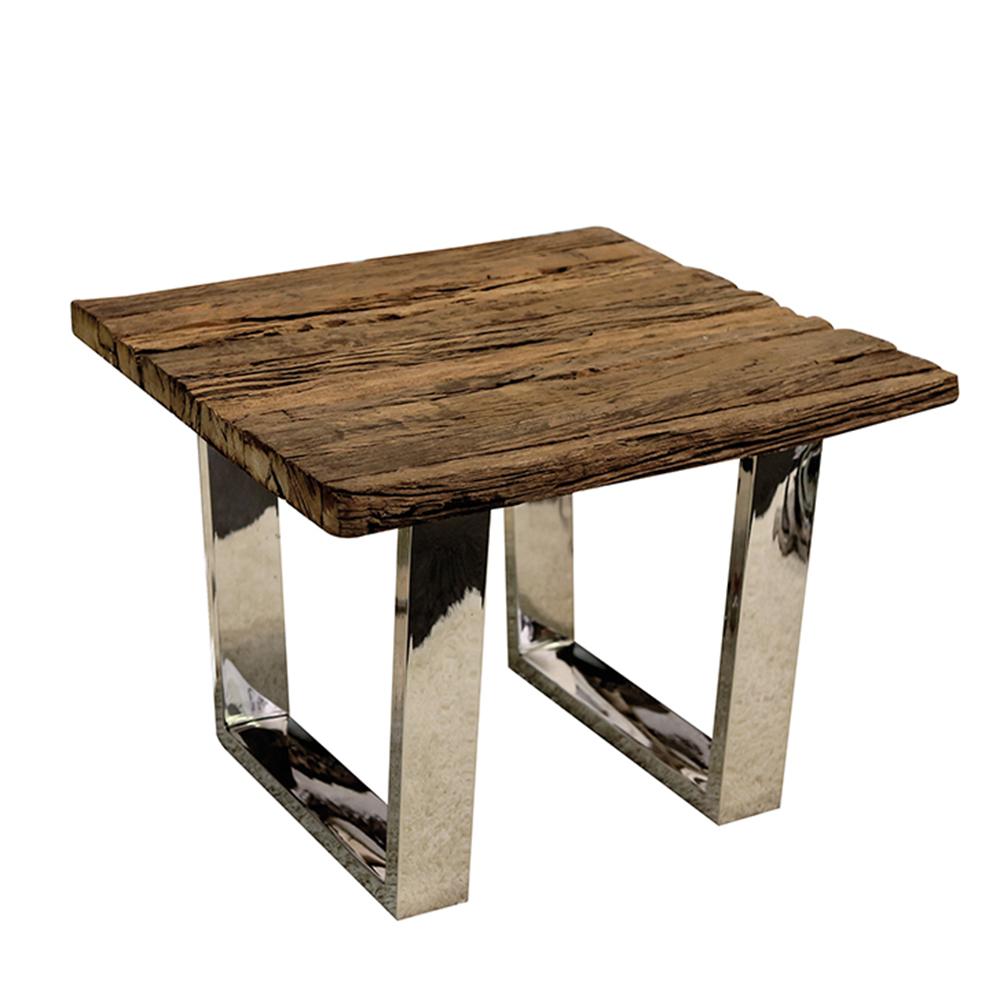 Konferenční stolek z recyklovaného dřeva Woodsen, 60 cm