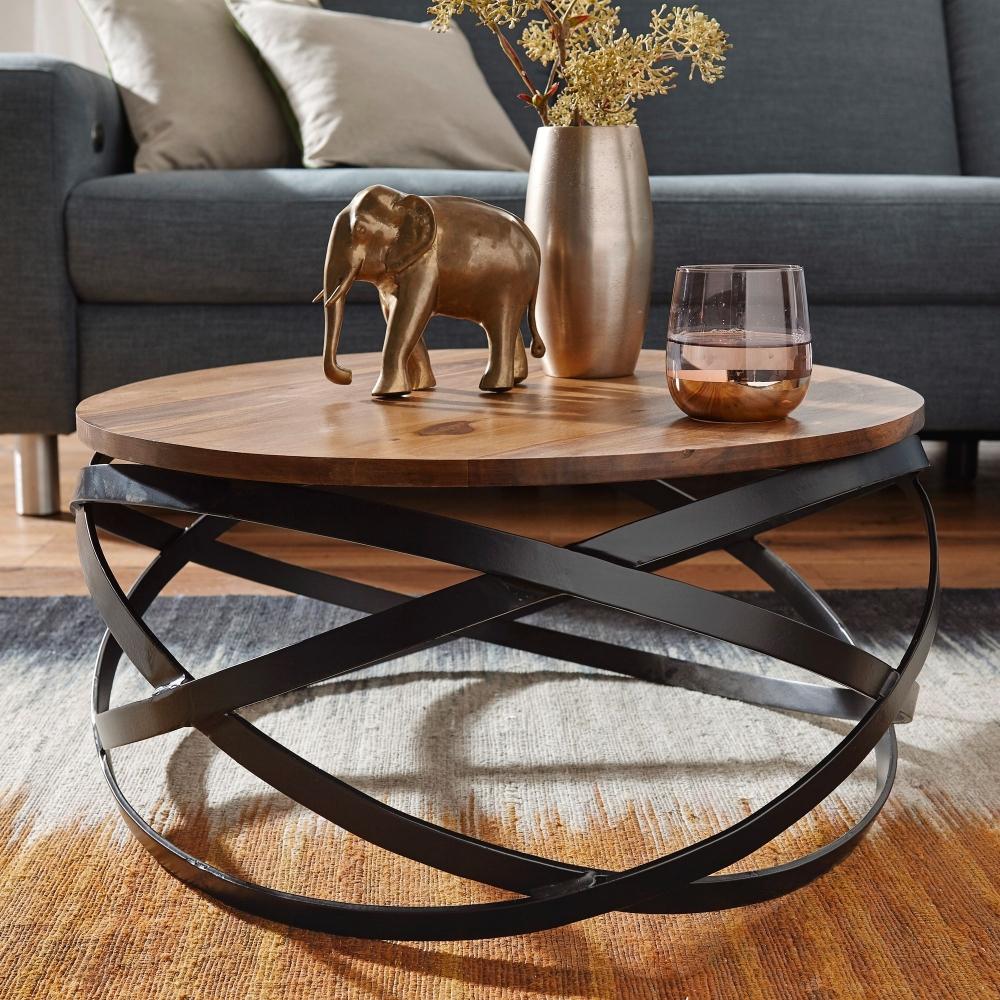 Konferenční stolek Zaky, 60 cm, masiv Sheesham