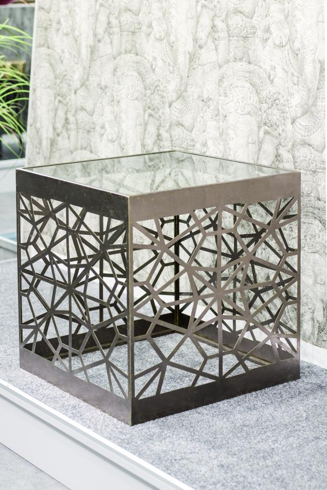 Konferenční stůl Deane, 50 cm, antická bronzová