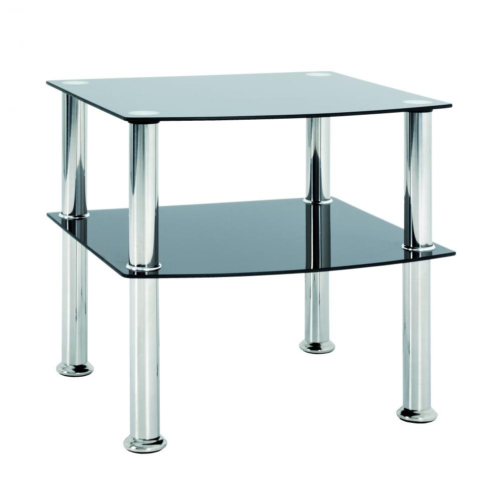 Konferenční stůl Sanford II, 44 cm, nerez