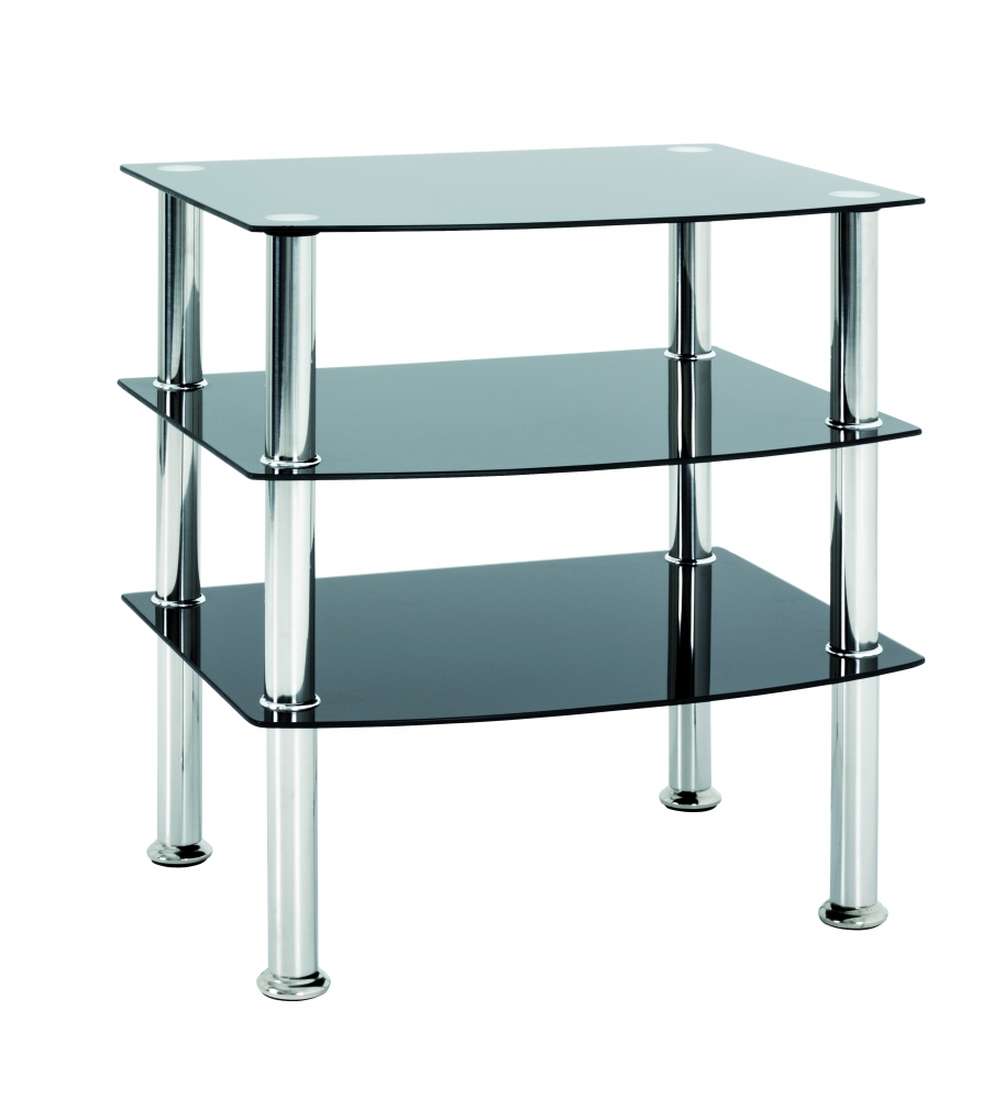 Konferenční stůl Sanford II, 59 cm, nerez