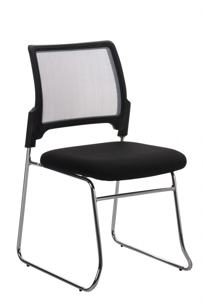 Konferenční židle Ema, tmavě šedá