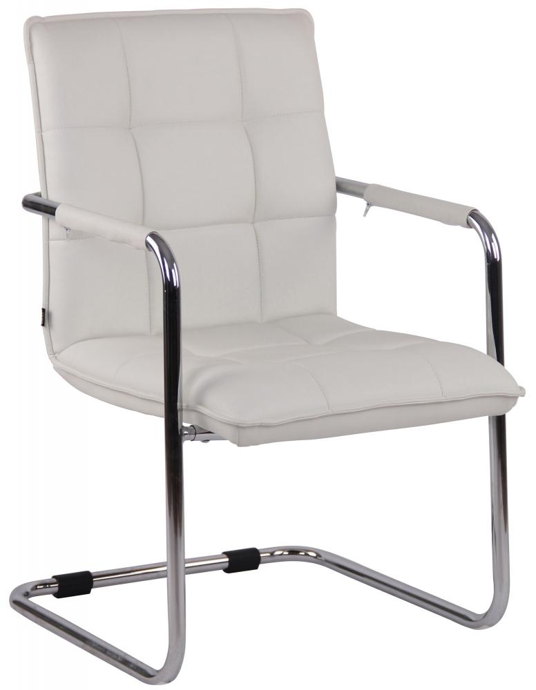 Konferenční židle Gandia, bílá