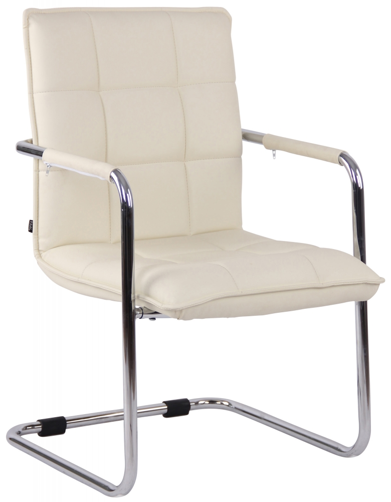 Konferenční židle Gandia, krémová