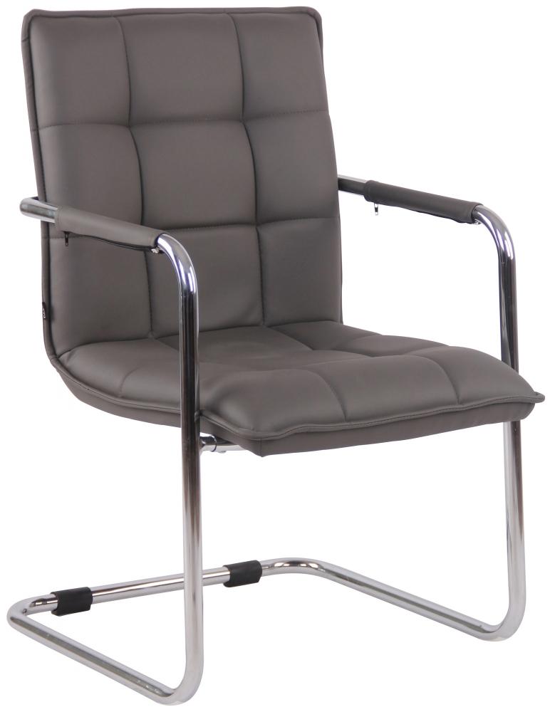 Konferenční židle Gandia, šedá