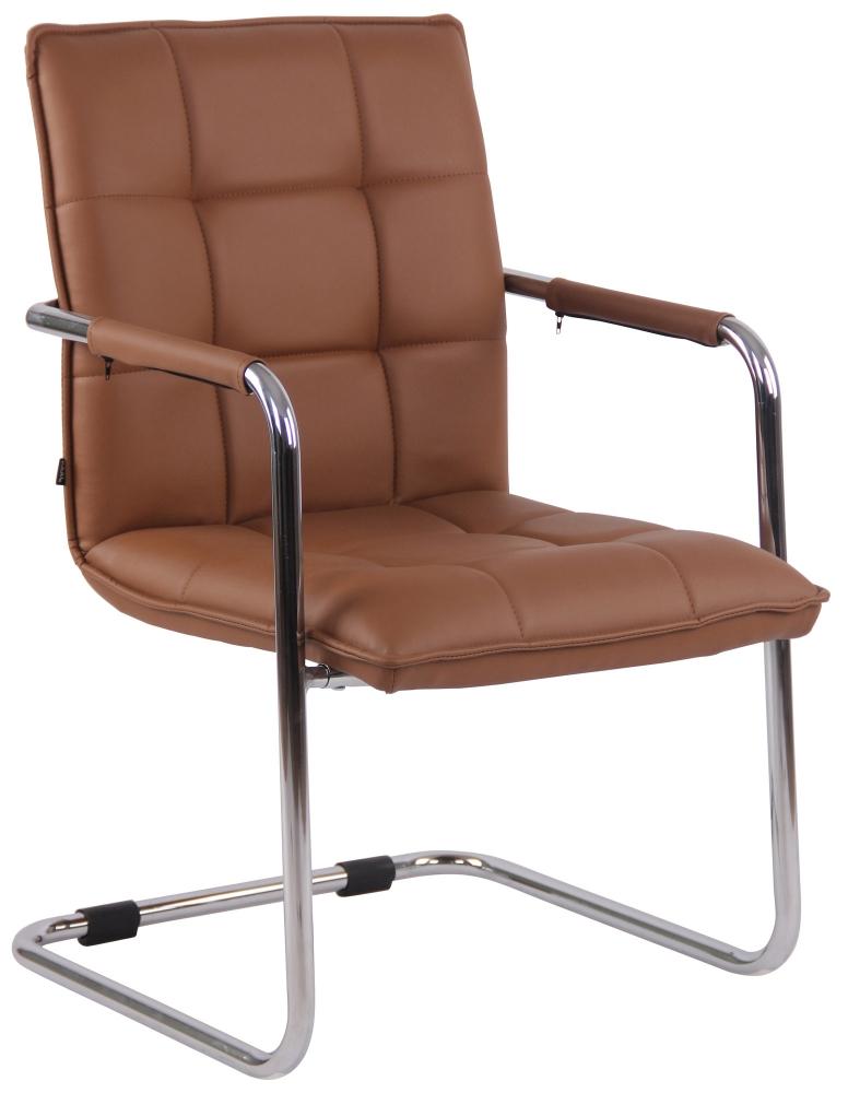 Konferenční židle Gandia, světle hnědá